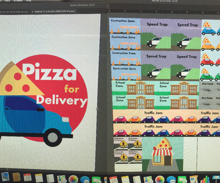 Pizza For Delivery by Kennedy Mcguire, Alexander Diaz, and Alexander Neff