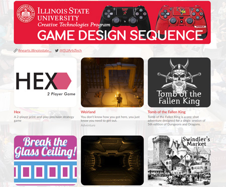 Games Published on the ISU CTK Itch.io Page