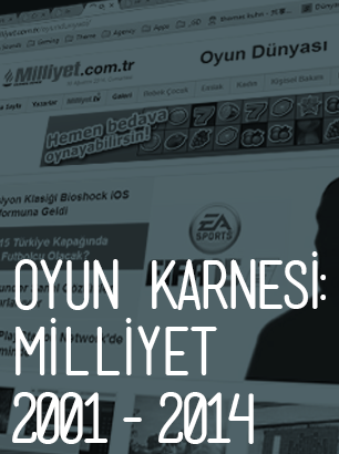 Oyun Karnesi: Milliyet 2001-2014