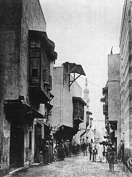 Paris Dünya Fuarı, 1889, Kahire Caddesi